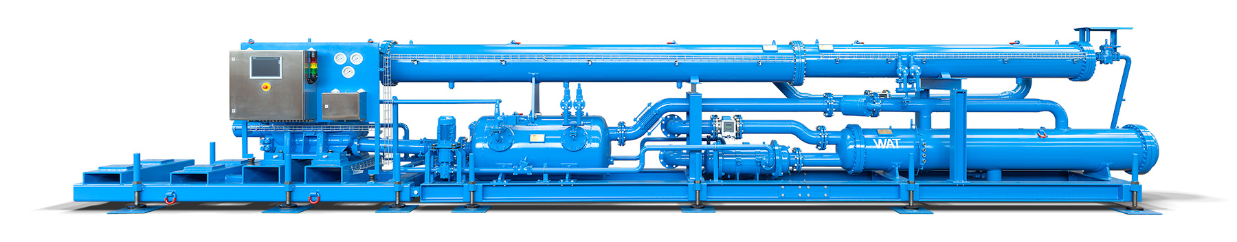 Cold-Water machine chiller KM1000 for cooling in mining and tunnelling
