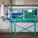 Maschinensatz Wetterkühlmaschine DV 420 für Kühlung im Tunnelbau und Bergbau