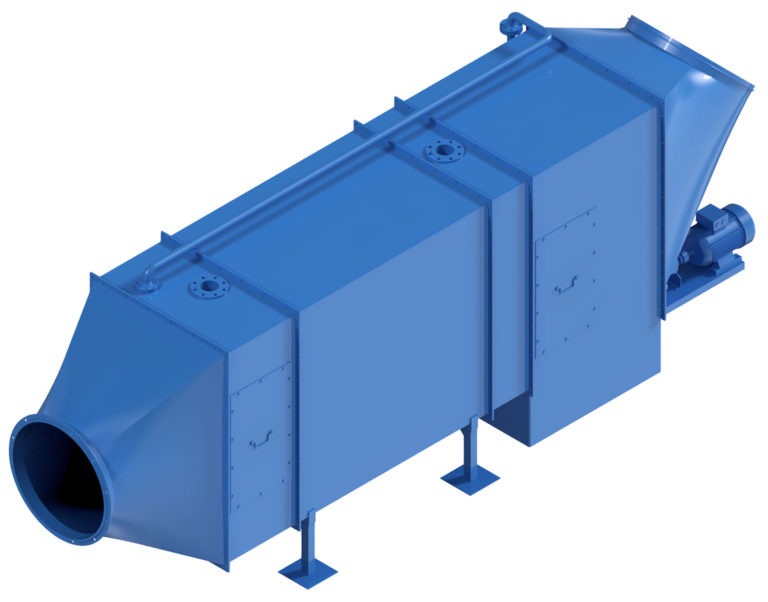 Re-cooler RK 1075 for cooling in mining and tunnelling with heat exchanger water cooling