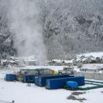 Rückkühlwerk Amsteg Gotthard-Basistunnel zur Kühlung im Tunnelbau
