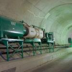 Wetterkühlmaschine DV 420 zur Kühlung der Luft im Tunnelbau